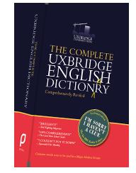 the complete uxbridge english dictionary